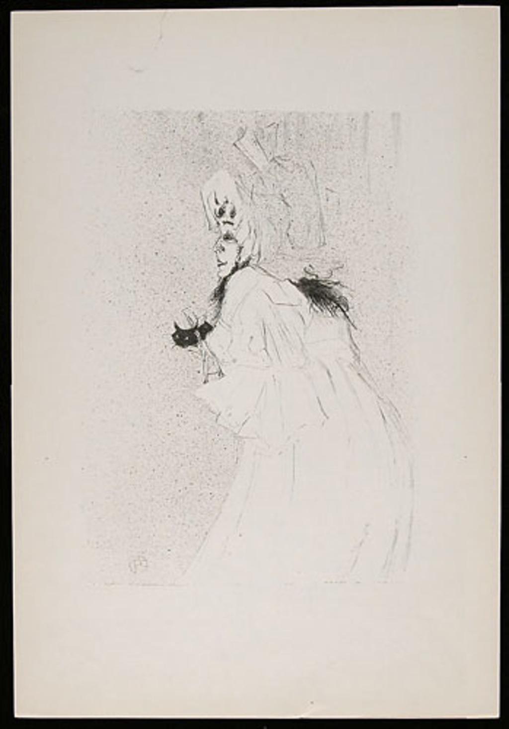Miss May Belfort, de l'album «Toulouse-Lautrec, douze lithographies»