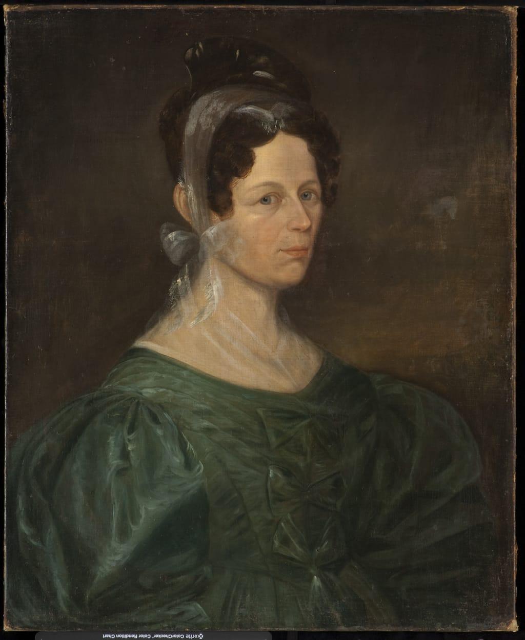 Madame Charles-Maxime Defoy, née Marie-Louise Légaré, soeur de l'artiste