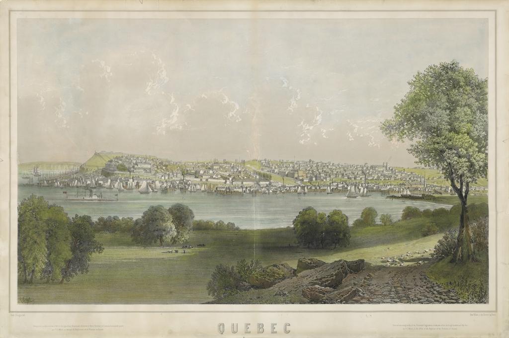Québec vu de Beauport