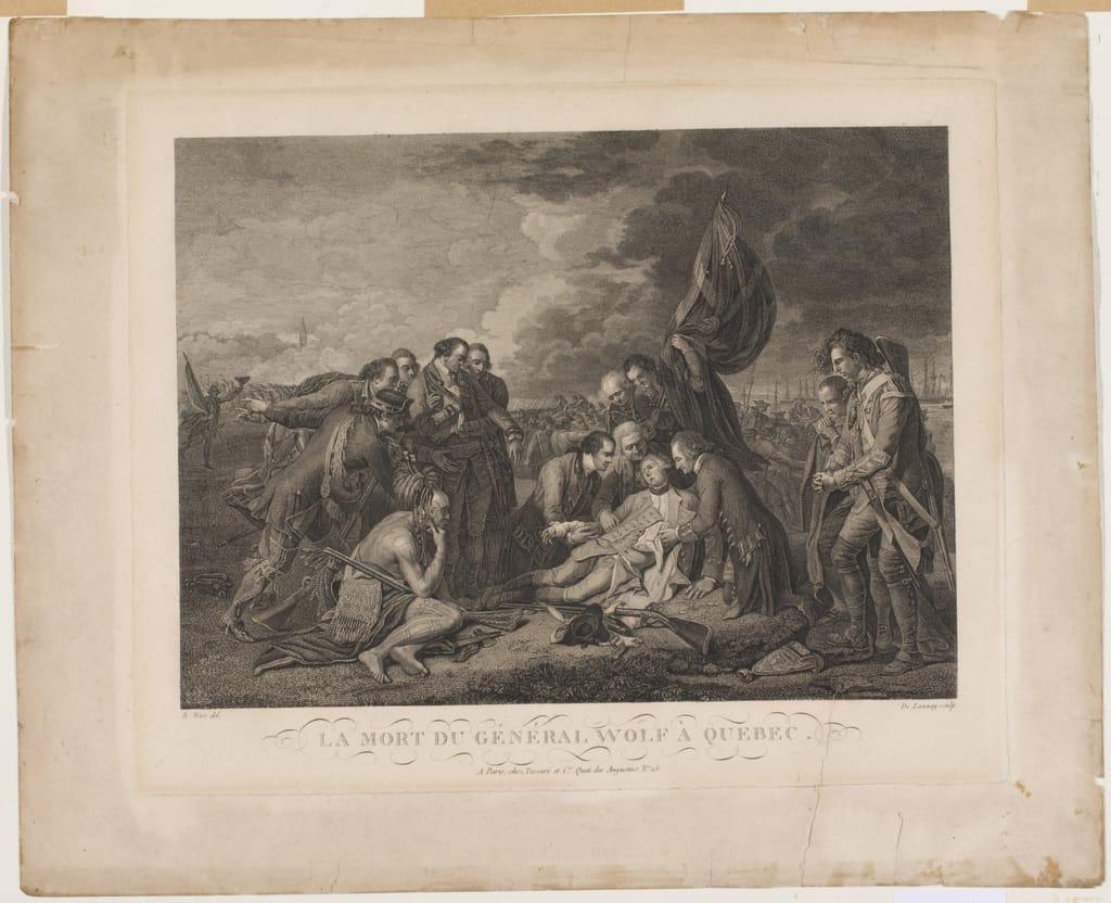 La Mort du général Wolfe à Québec