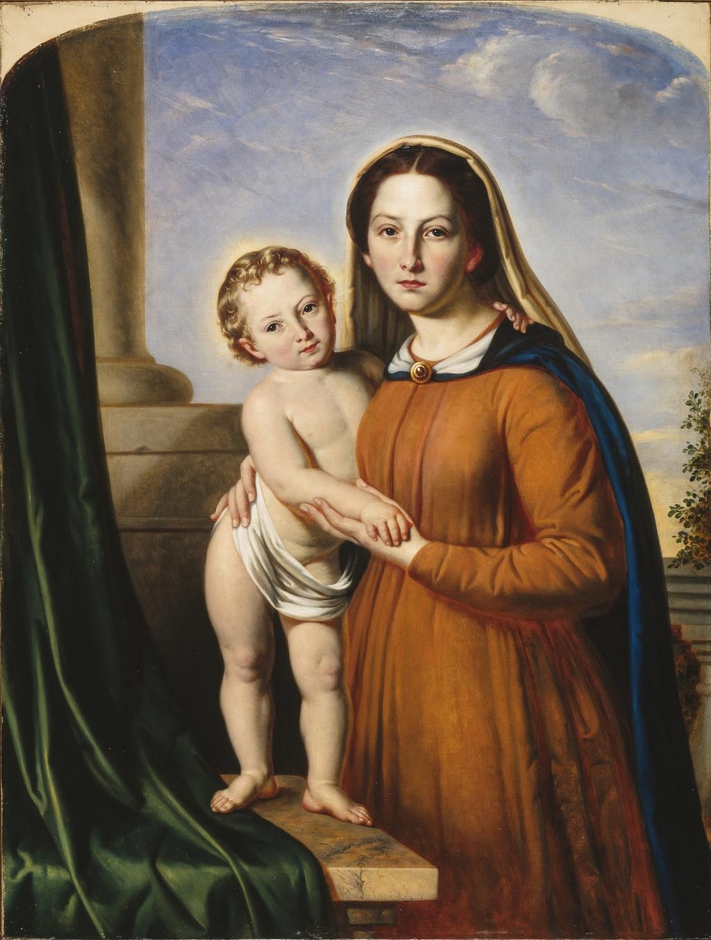 Madone tenant l'Enfant Jésus