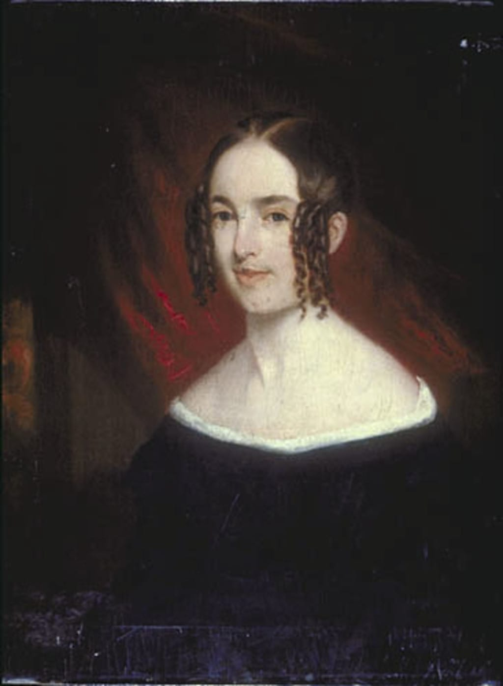 Portrait posthume de madame James Turnbull, née Caroline Oldaker