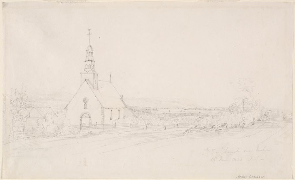 L'Église de Sainte-Foy près de Québec