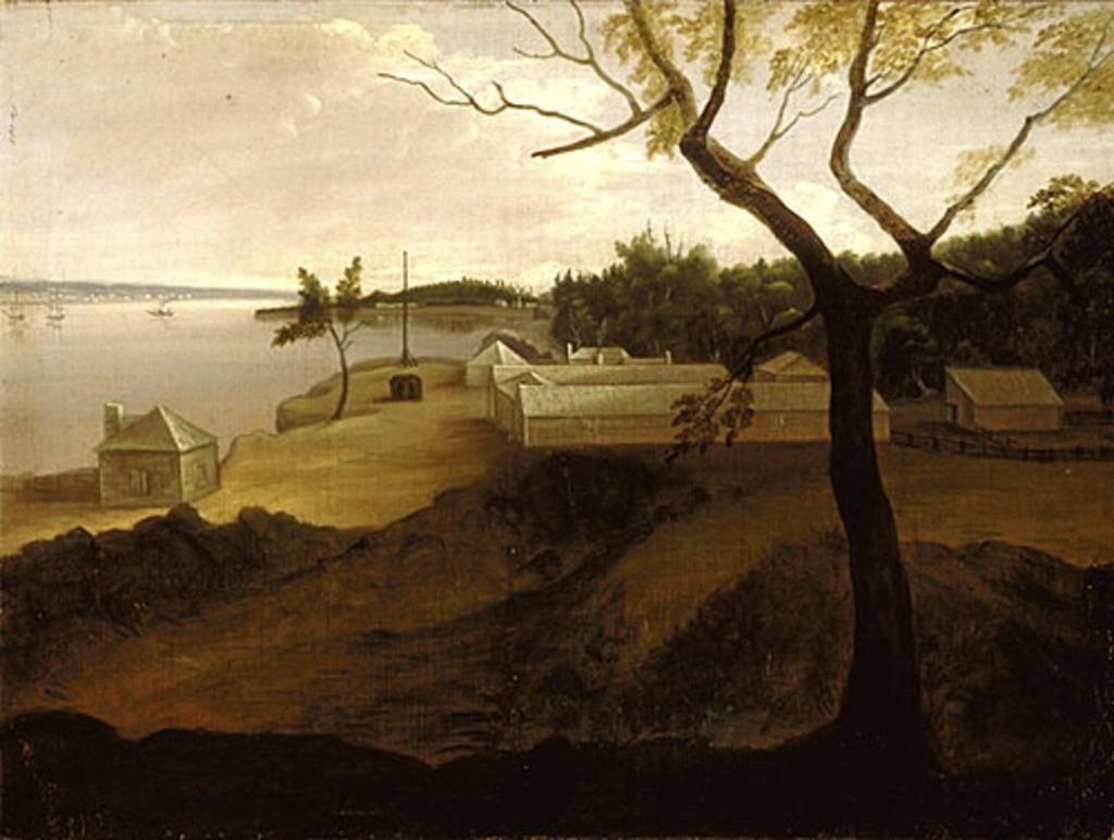 Le Campement militaire de Wolfe à la chute Montmorency