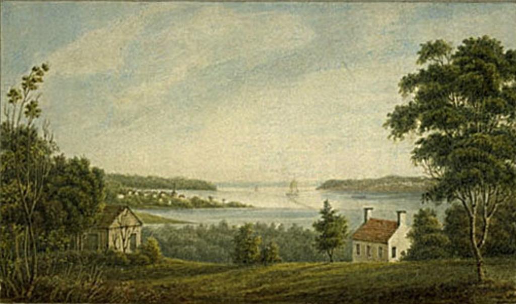 Vue du Saint-Laurent à la hauteur de Pointe-aux-Trembles