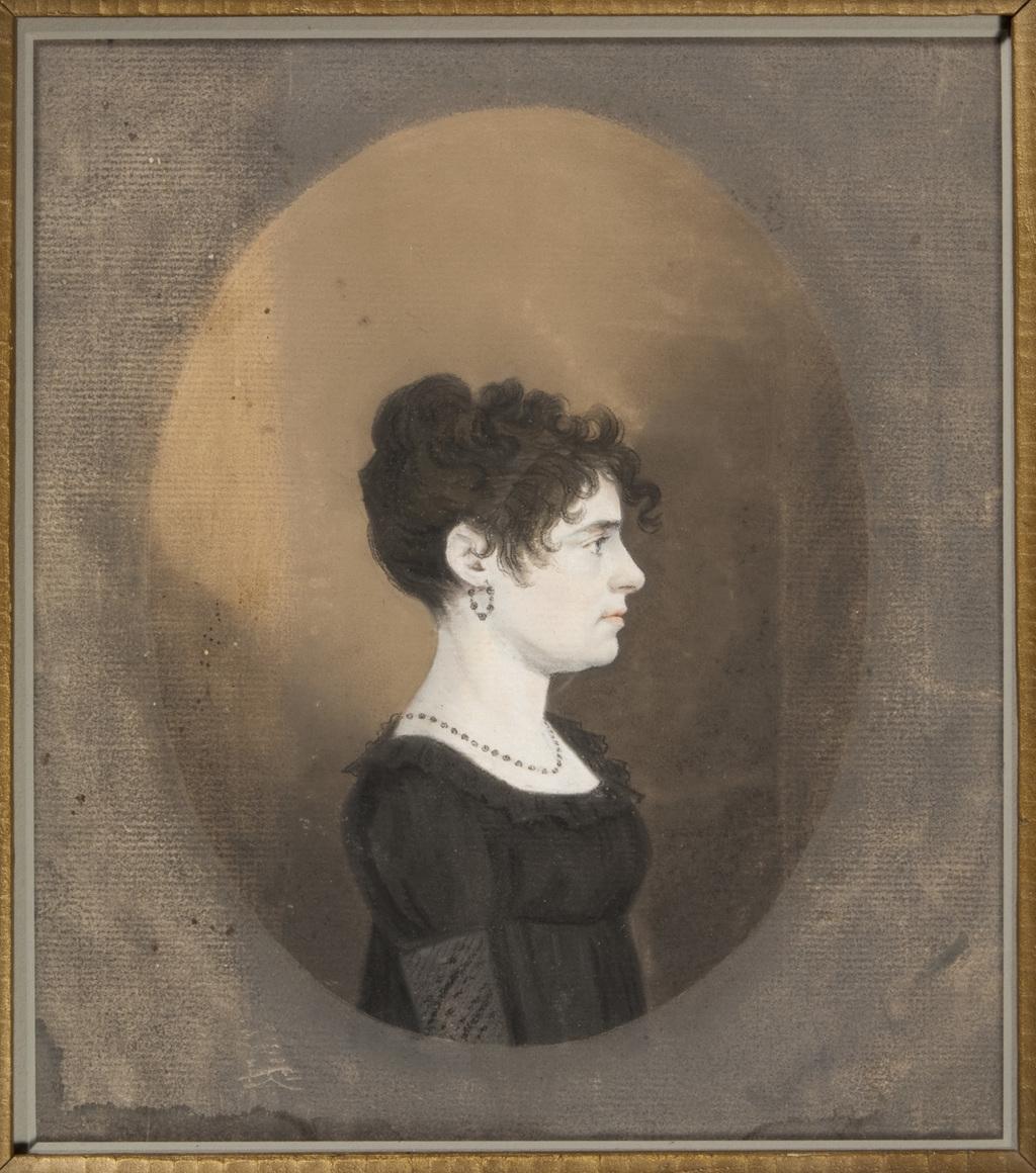 Portrait de femme, membre de la famille Boucher de La Bruère