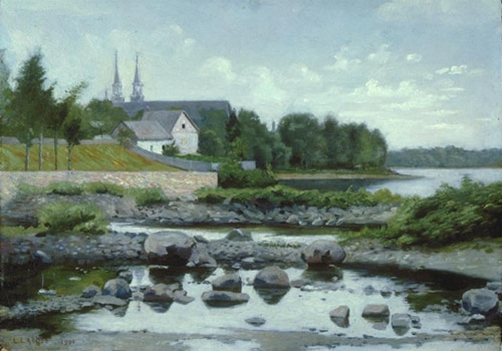 Paysage à Sainte-Rose