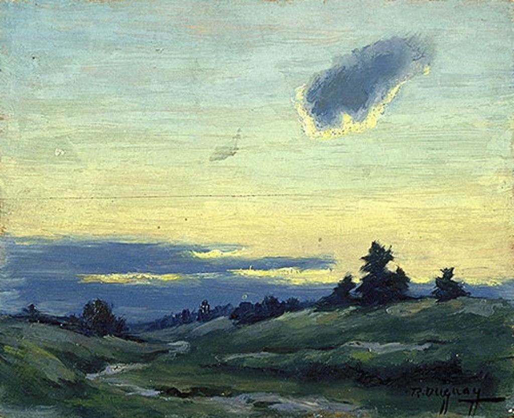 Paysage au nuage