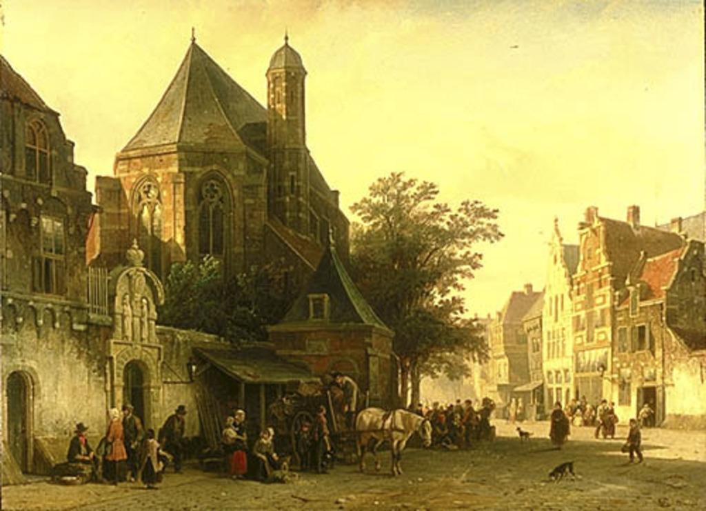 Un beau matin au marché, Hollande
