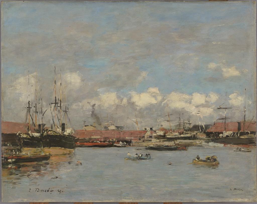 Le Havre, le bassin de la Citadelle