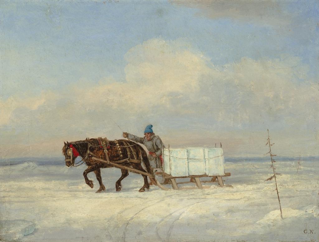 Le Transport de la glace
