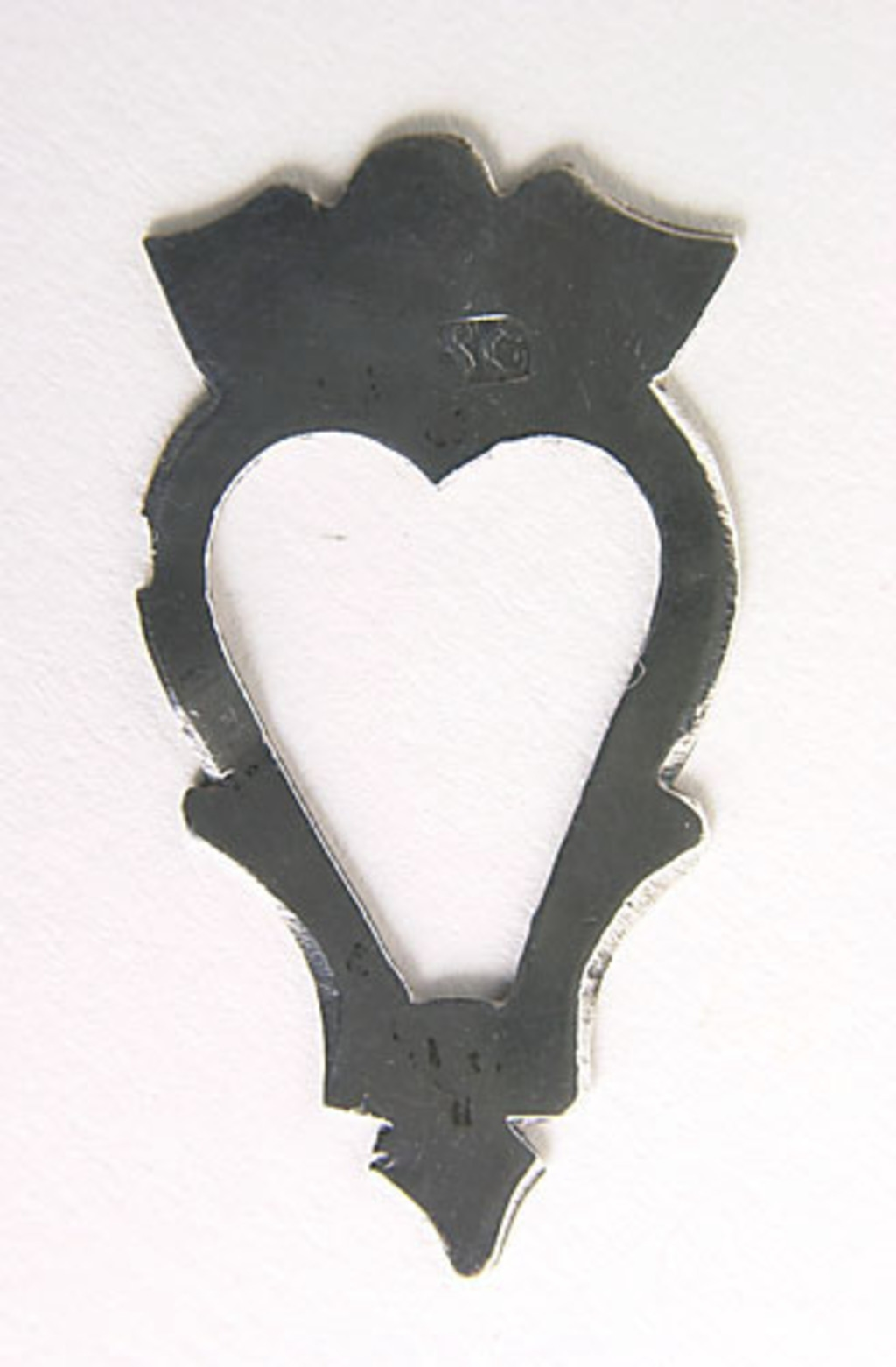Broche en coeur «Luckenbooth»