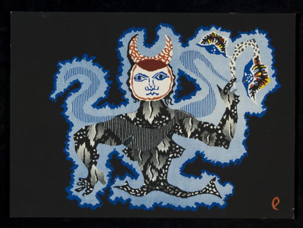 La Vierge, du livre illustré «Les Signes du zodiaque»