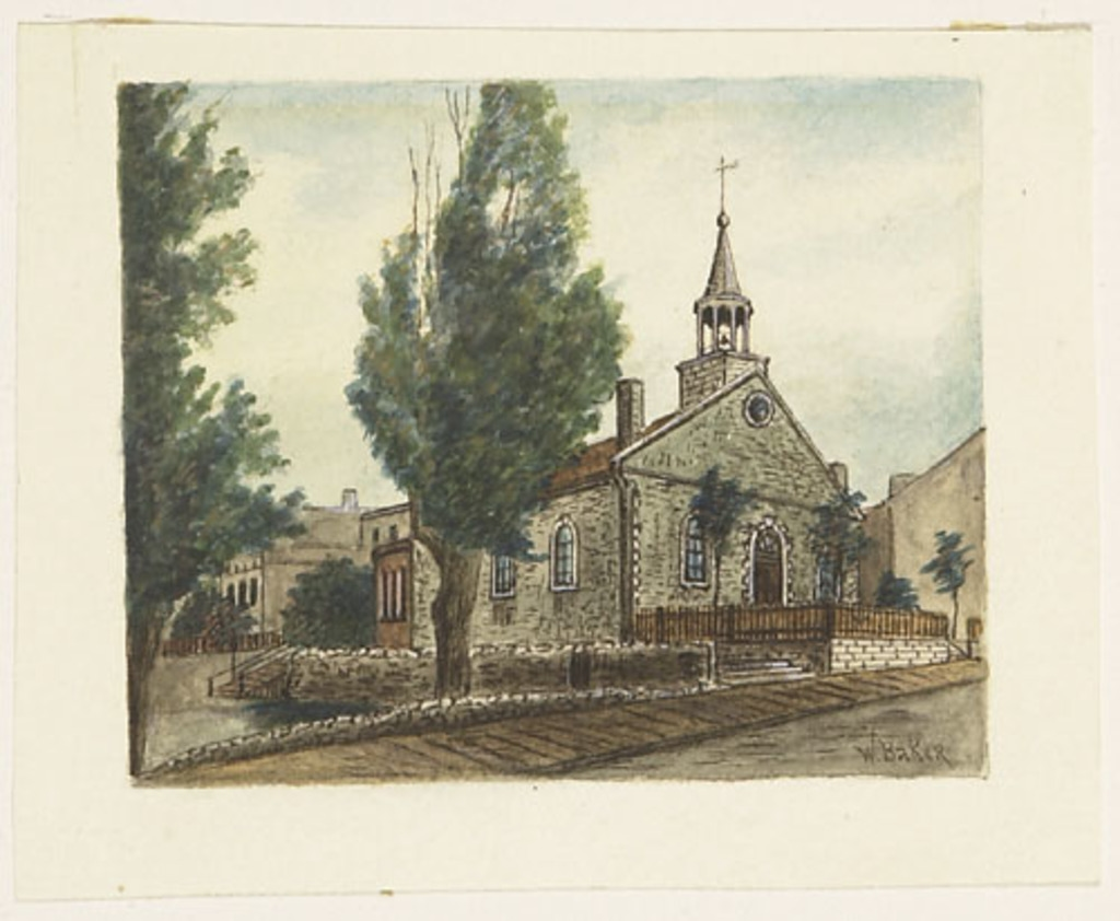 Ancienne Église presbytérienne de Saint-Gabriel