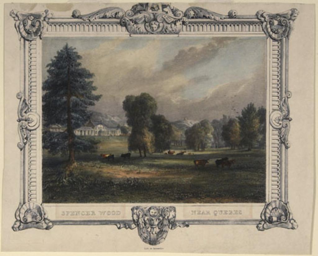 Spencer Wood, près de Québec, propriété de Henry Atkinson