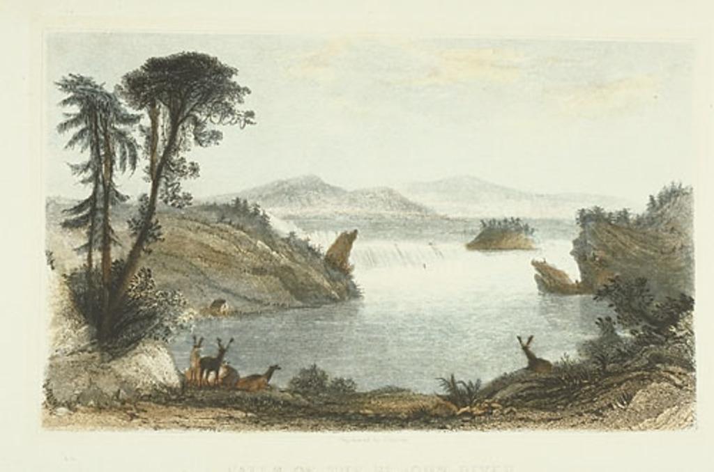 Les Chutes de la rivière Saint-Jean