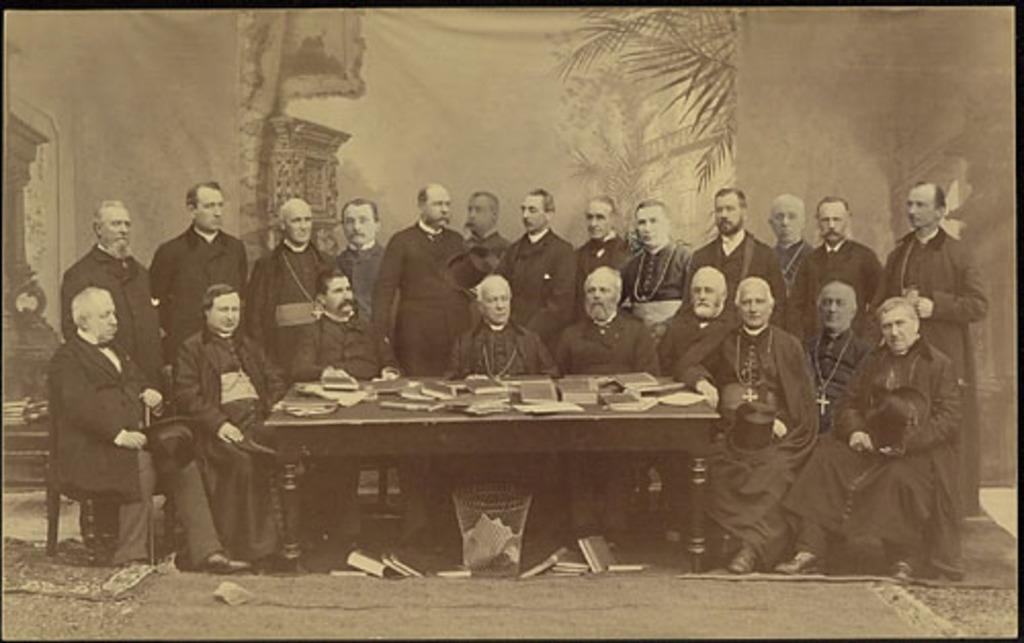 Membres du comité catholique du Conseil de l'instruction publique de la province de Québec