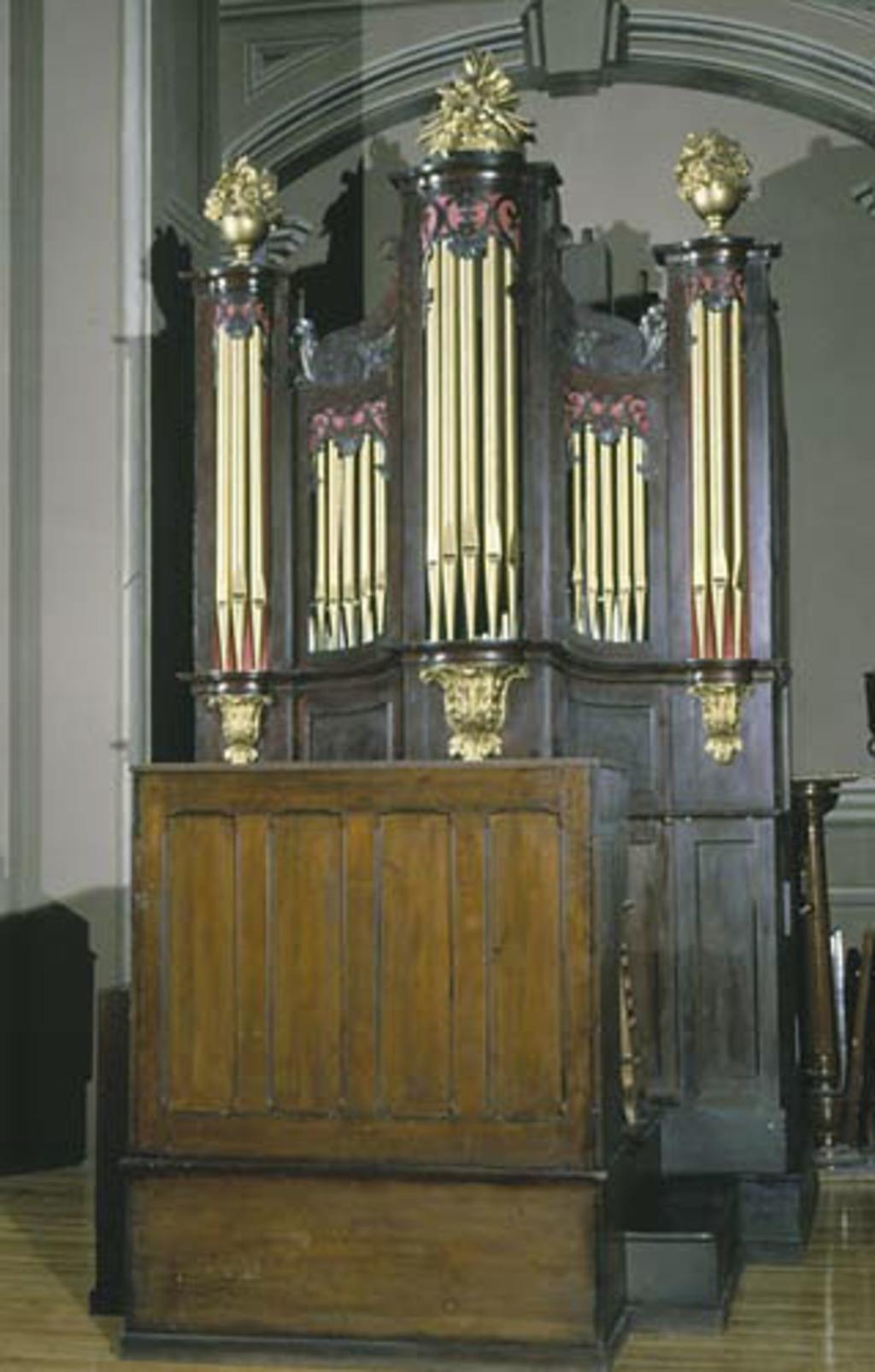 Buffet d'orgue de la cathédrale Notre-Dame de Québec