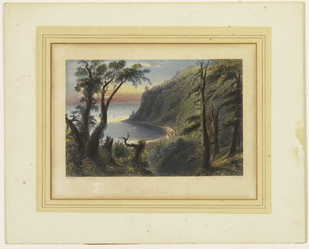 L'Anse au Foulon, Sillery, extrait du Canadian Scenery Illustrated, vol. I