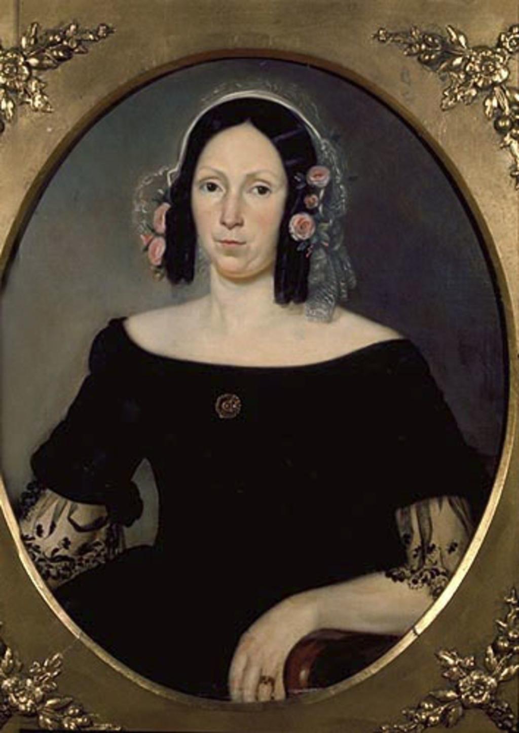 Madame Georges-Barthélemi Faribault, née Julie Plante, d'après un daguerréotype (?)
