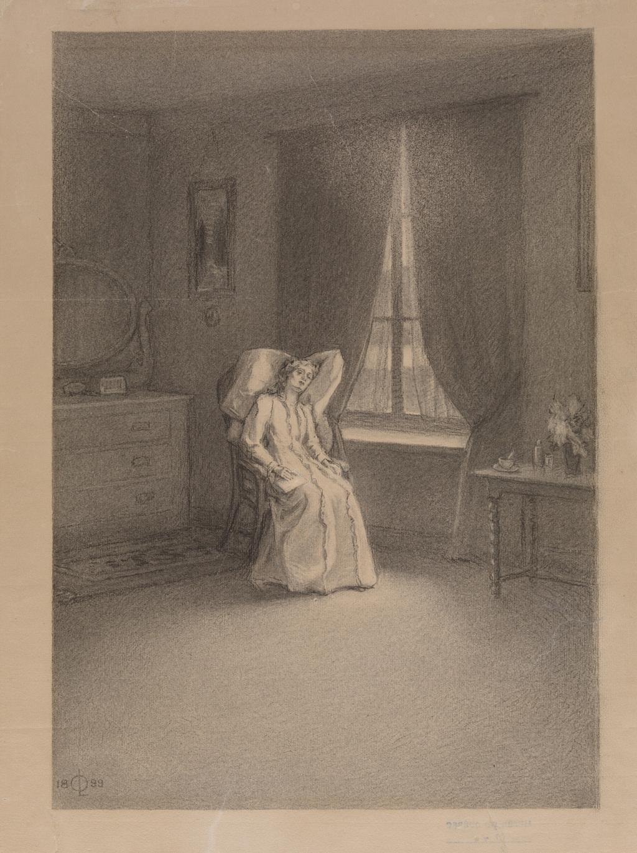 La Maladie de Fernande, illustration pour « Claude Paysan » d'Ernest Choquette