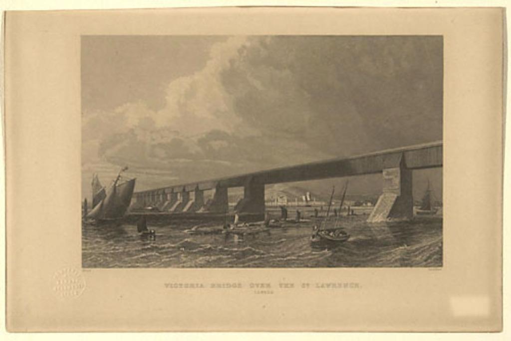 Le Pont Victoria, Montréal