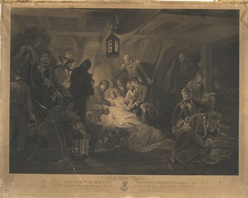 La Mort d'Horatio Nelson, vicomte et baron