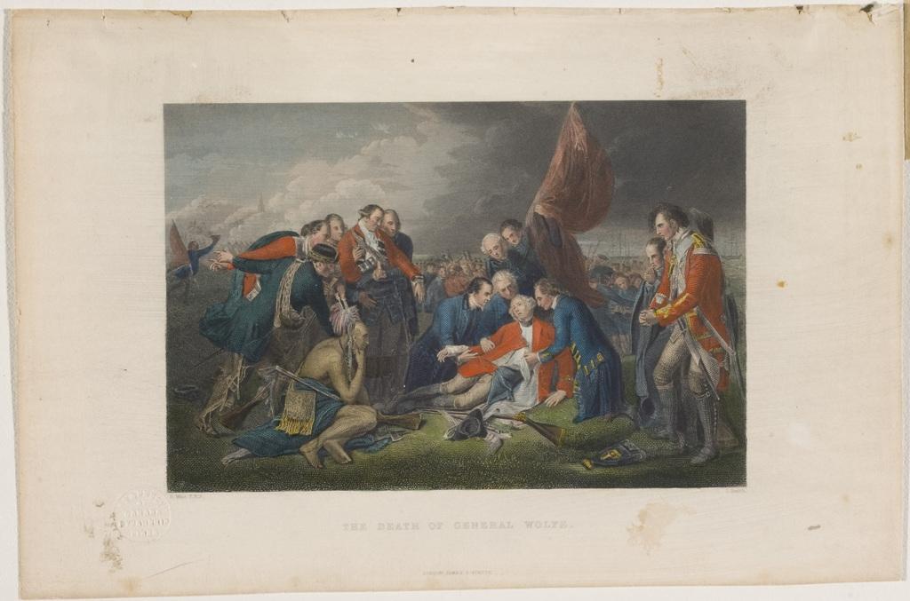 La Mort du général Wolfe