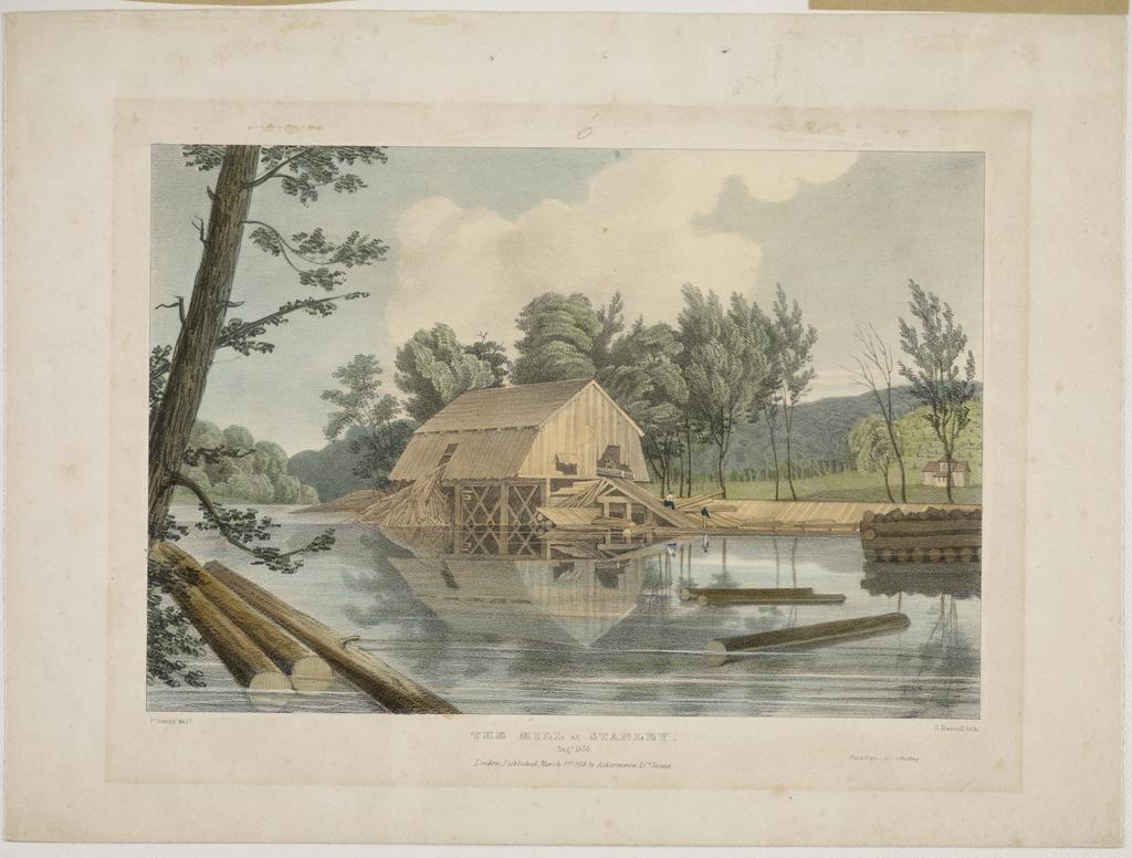 Le Moulin à Stanley, Nouveau-Brunswick