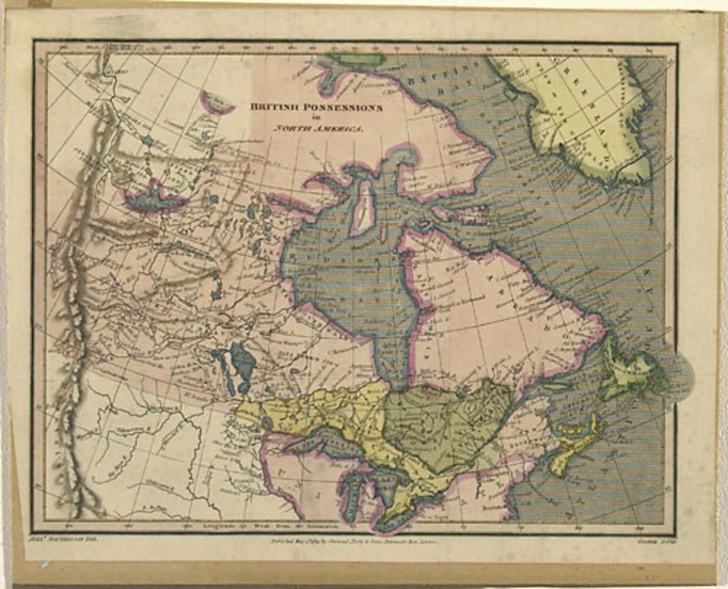 Possessions anglaises de l'Amérique du Nord