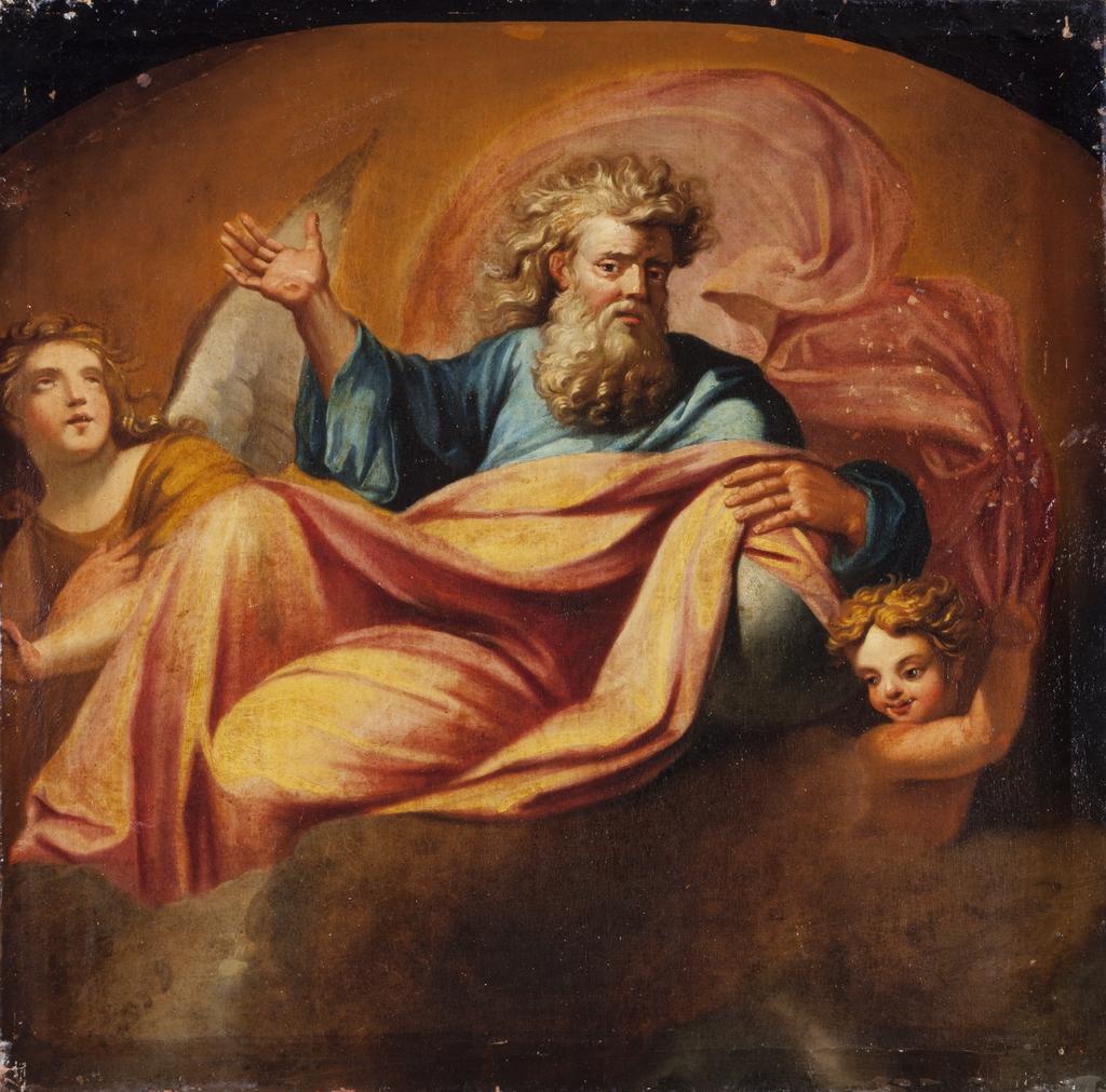 Dieu le père avec des anges