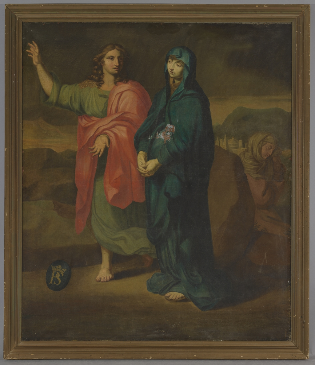 La Vierge et saint Jean