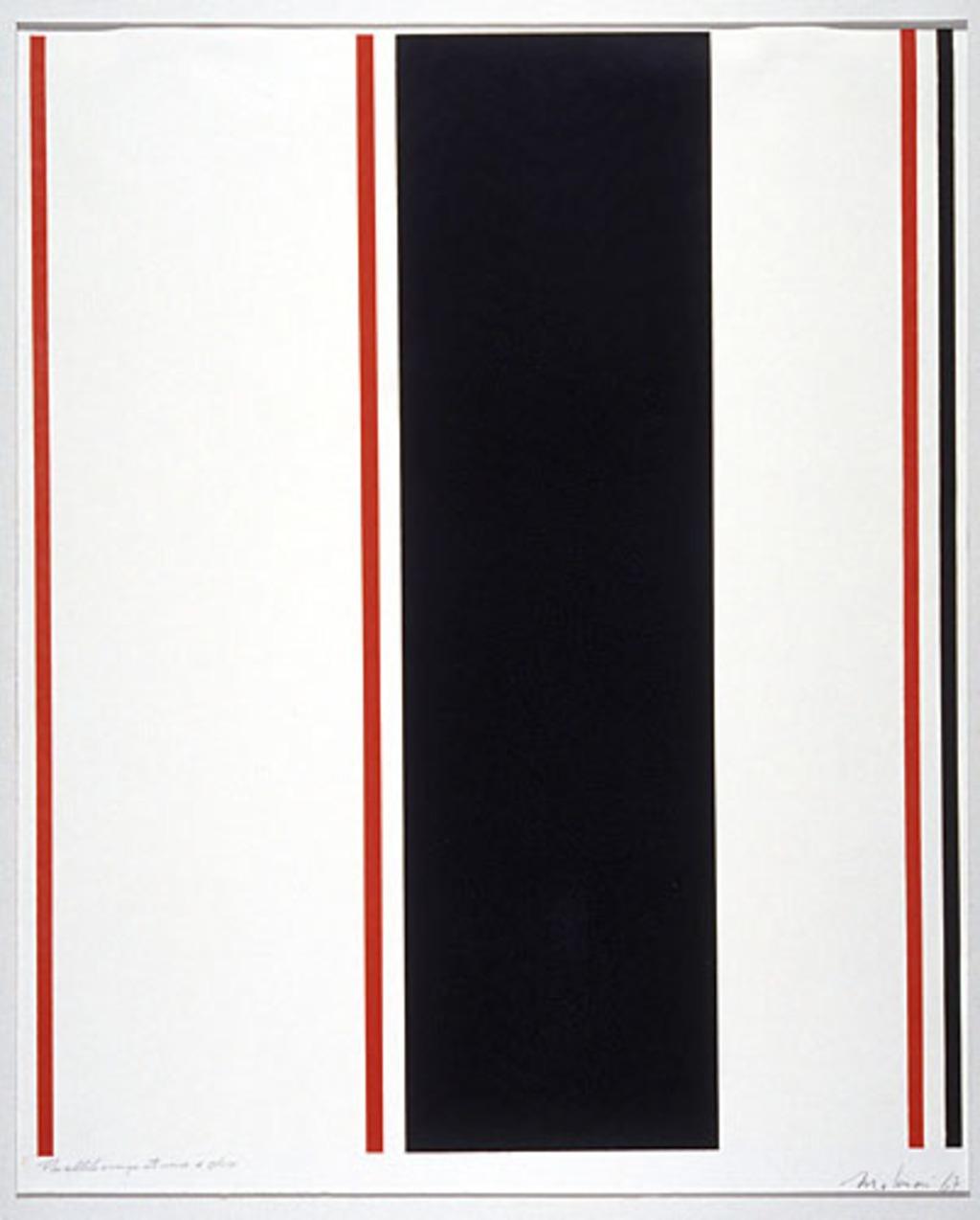 Parallèle rouge et noire