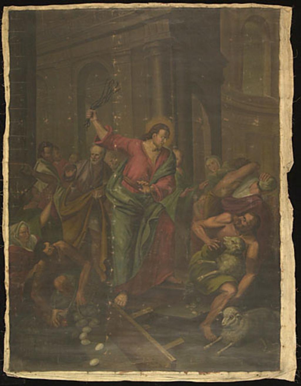 Jésus chassant les vendeurs du temple