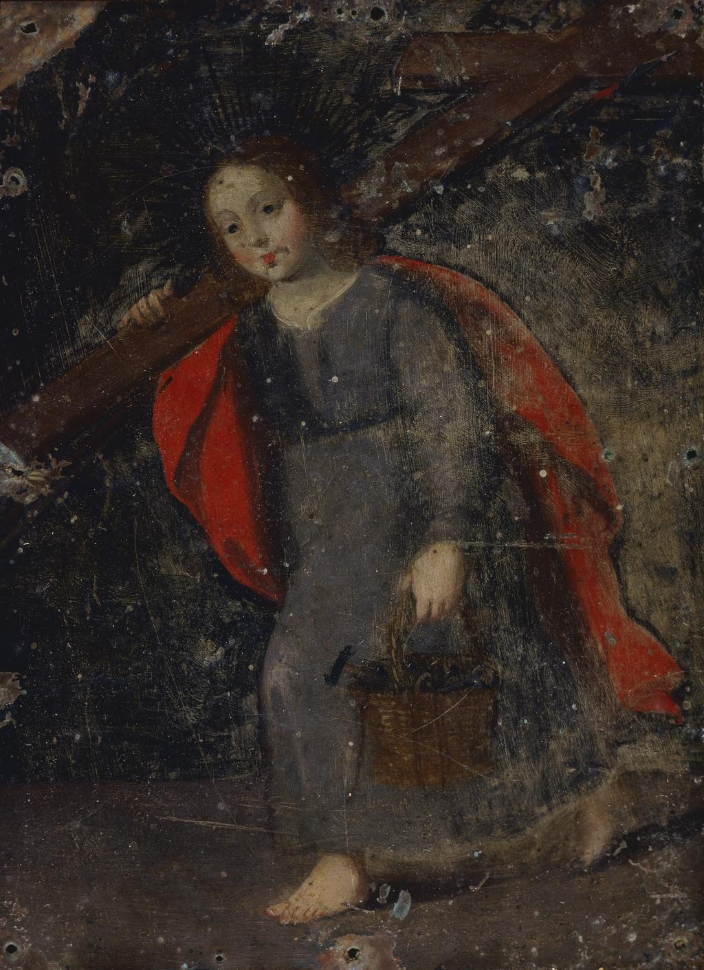 L'Enfant Jésus aux instruments de la Passion