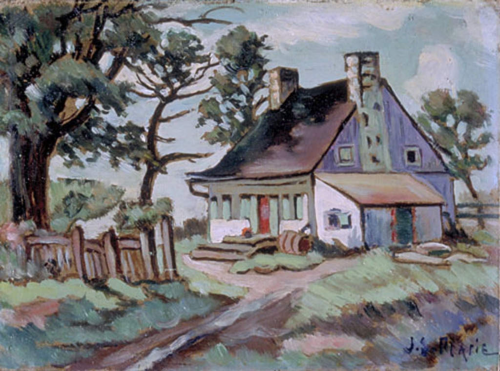 Maison de ferme, chemin Chambly