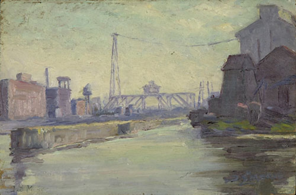Pont, rue des Seigneurs, canal Lachine