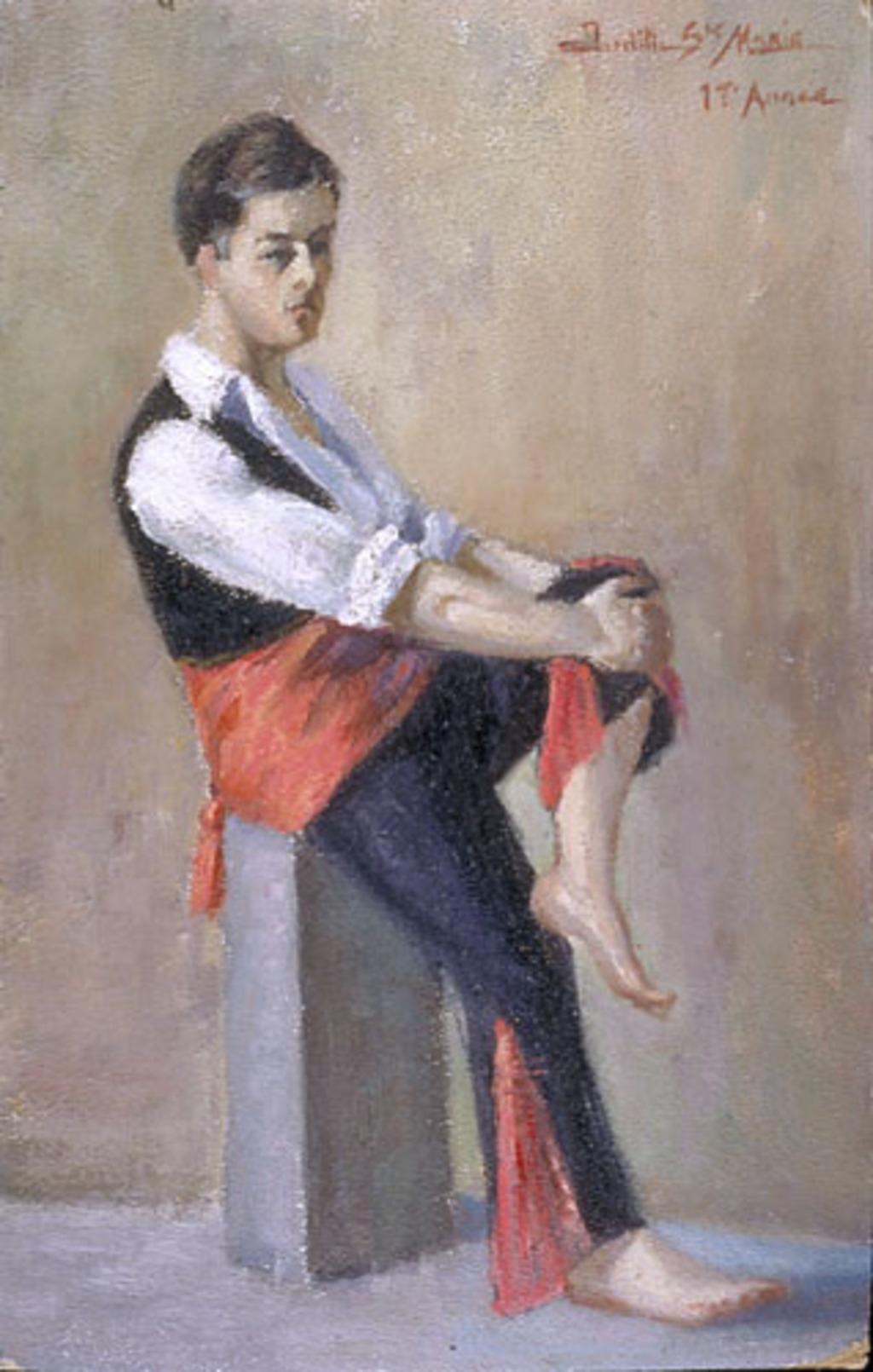Danseur folklorique espagnol
