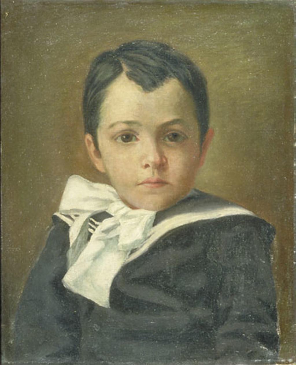 Georges-Henri, enfant, frère de l'artiste