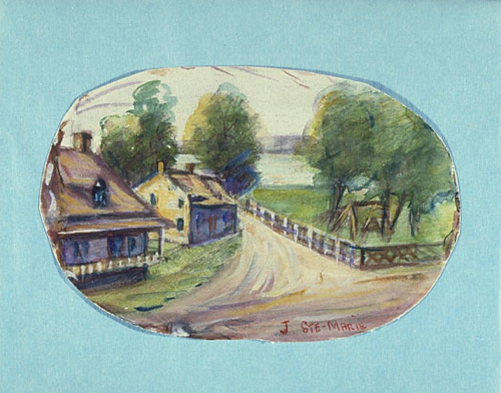 Vieilles Maisons à Verchères