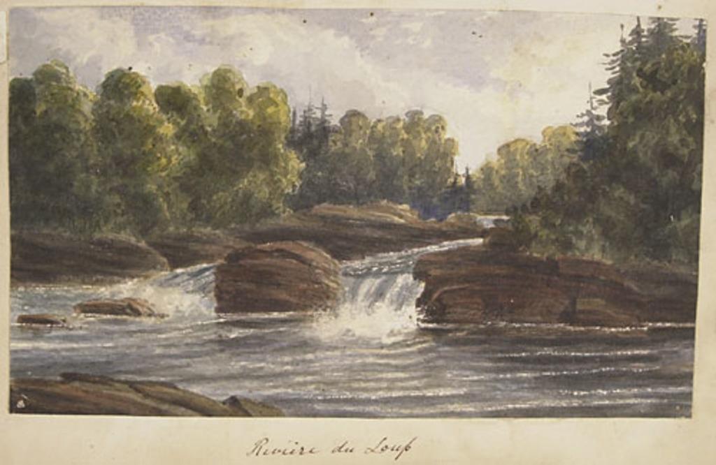 Rivière-du-Loup, de l'album du capitaine Frederick Stevenson