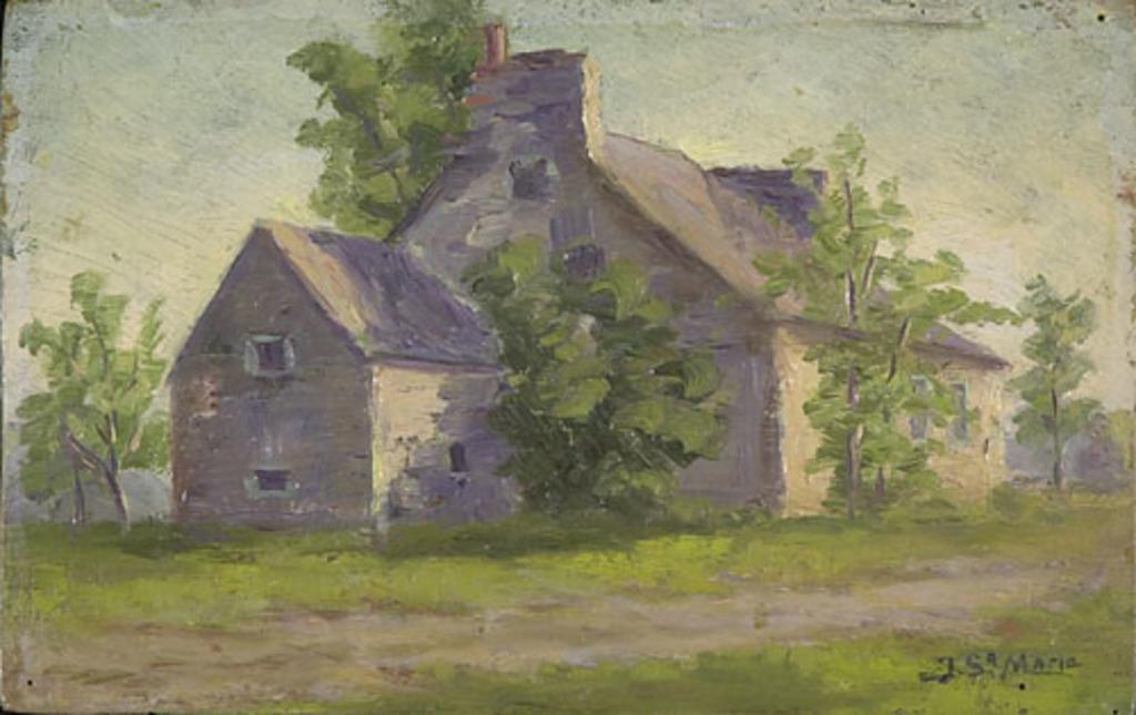 Maison de ferme, côteau Rouge, boulevard Sainte-Foy