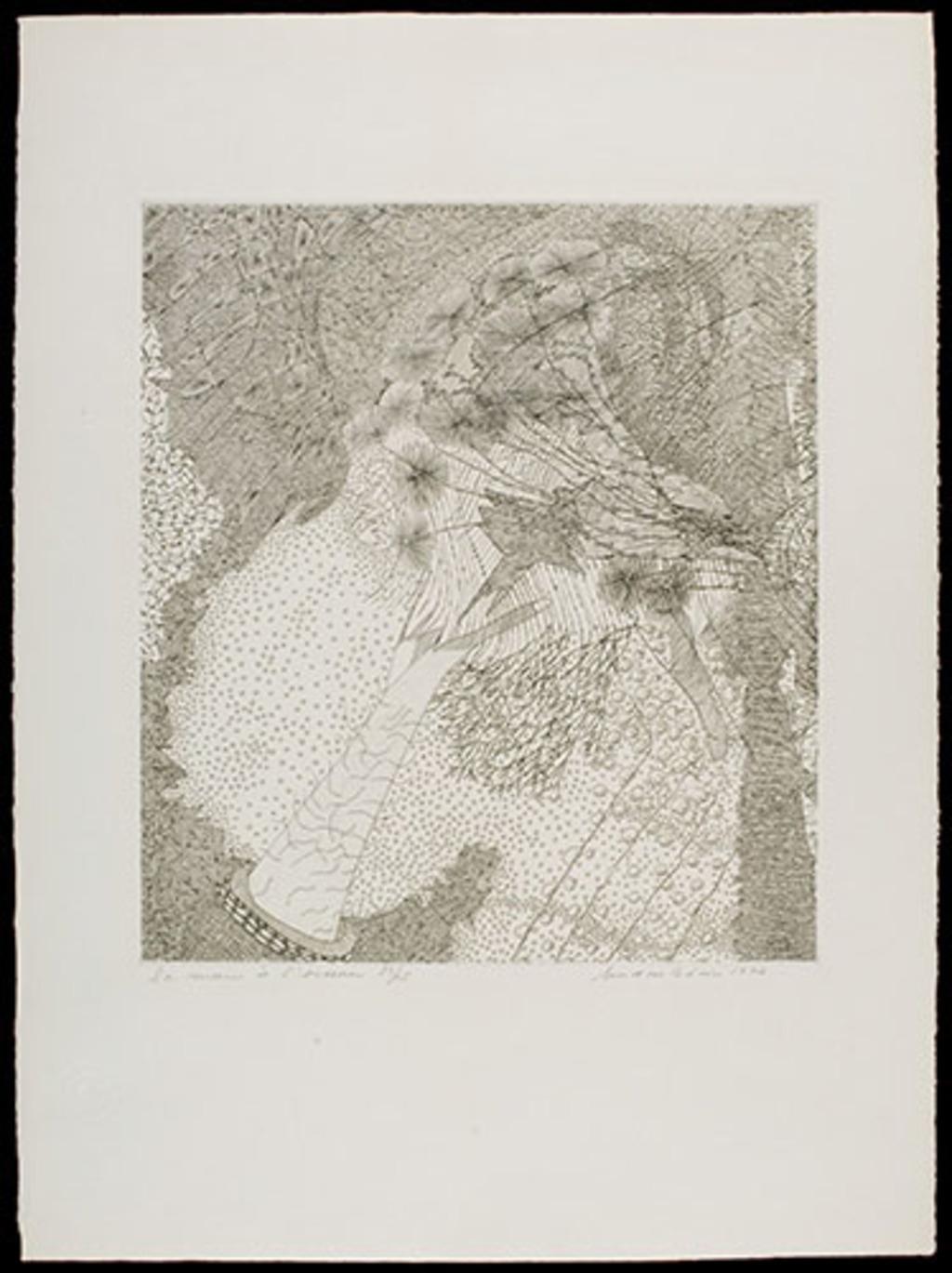 La Main à l'oiseau, du livre d'artiste «Premier Jardin»