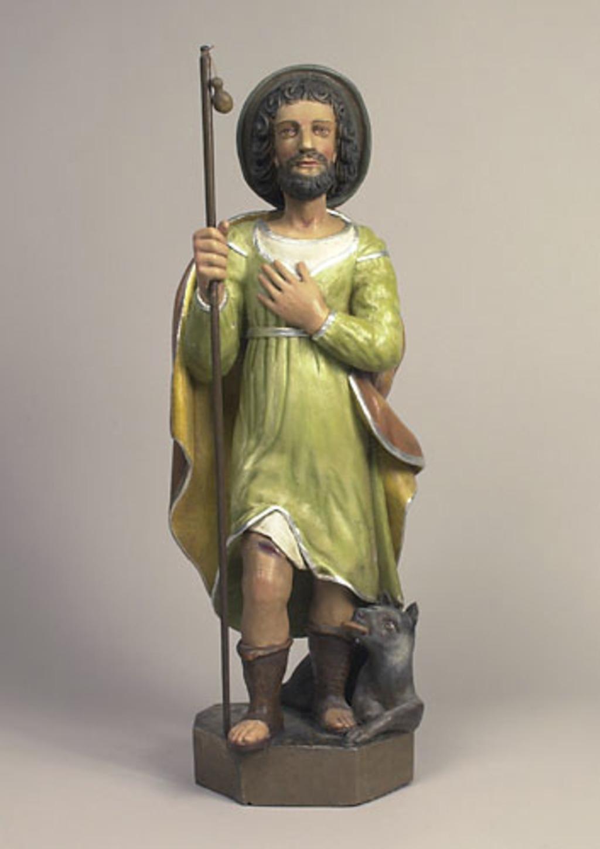 Saint Roch et son chien