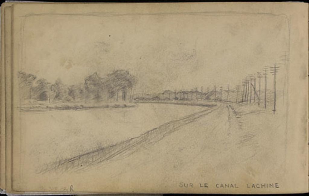 Sur le canal Lachine