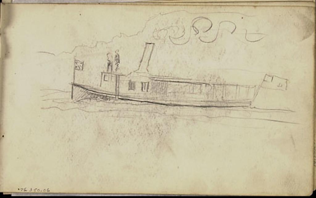 Petit Navire à vapeur