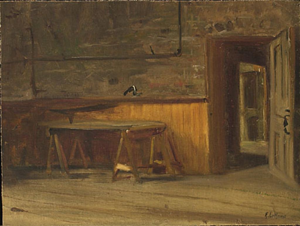 Intérieur d'atelier de menuiserie