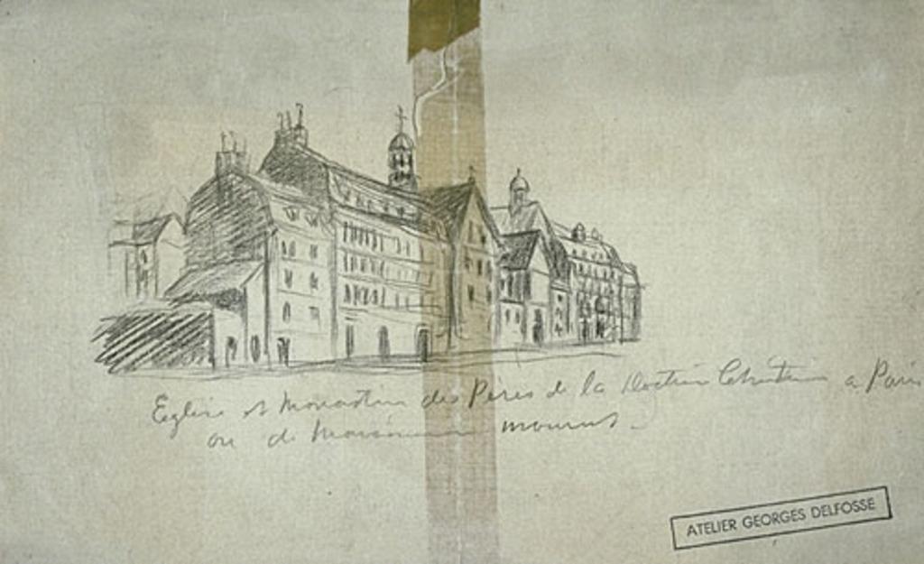 Église et monastère des Pères de la doctrine chrétienne à Paris