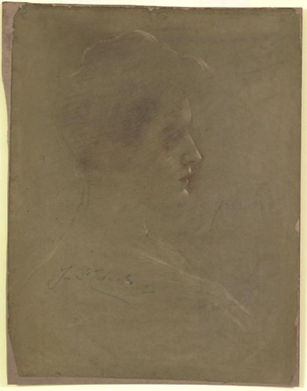 Madame Joseph Saint-Charles, épouse de l'artiste
