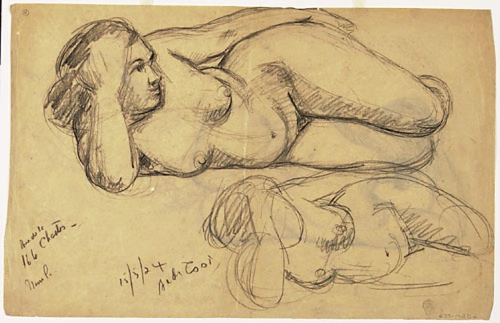 Étude de nu (femme)